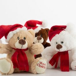 Urso de Peluche de Natal