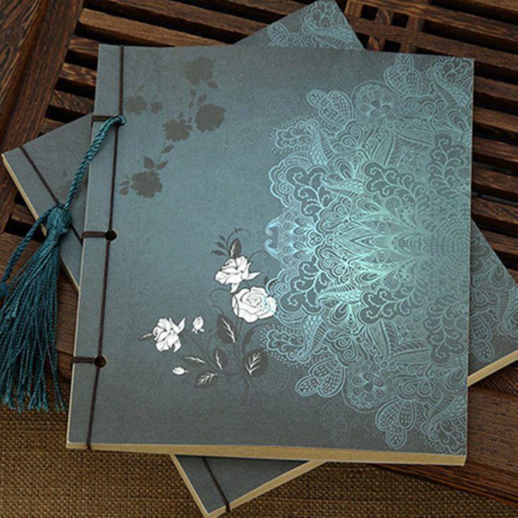 Старинные Антикварные Ручной китайский стиль блокнот ноутбук vintage пустой новое прибытиекупить в магазине Cupid's TargetнаAliExpress