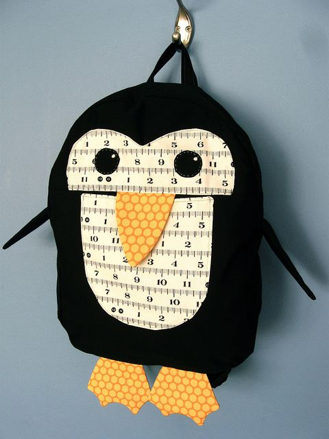 backpack - from 'oliver + S little things to sew'.