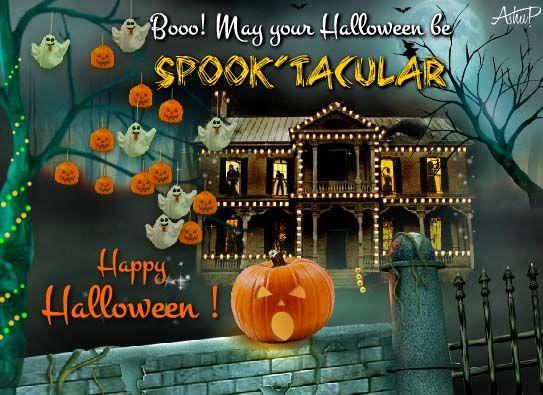 Spooktacular Halloween Wishes!