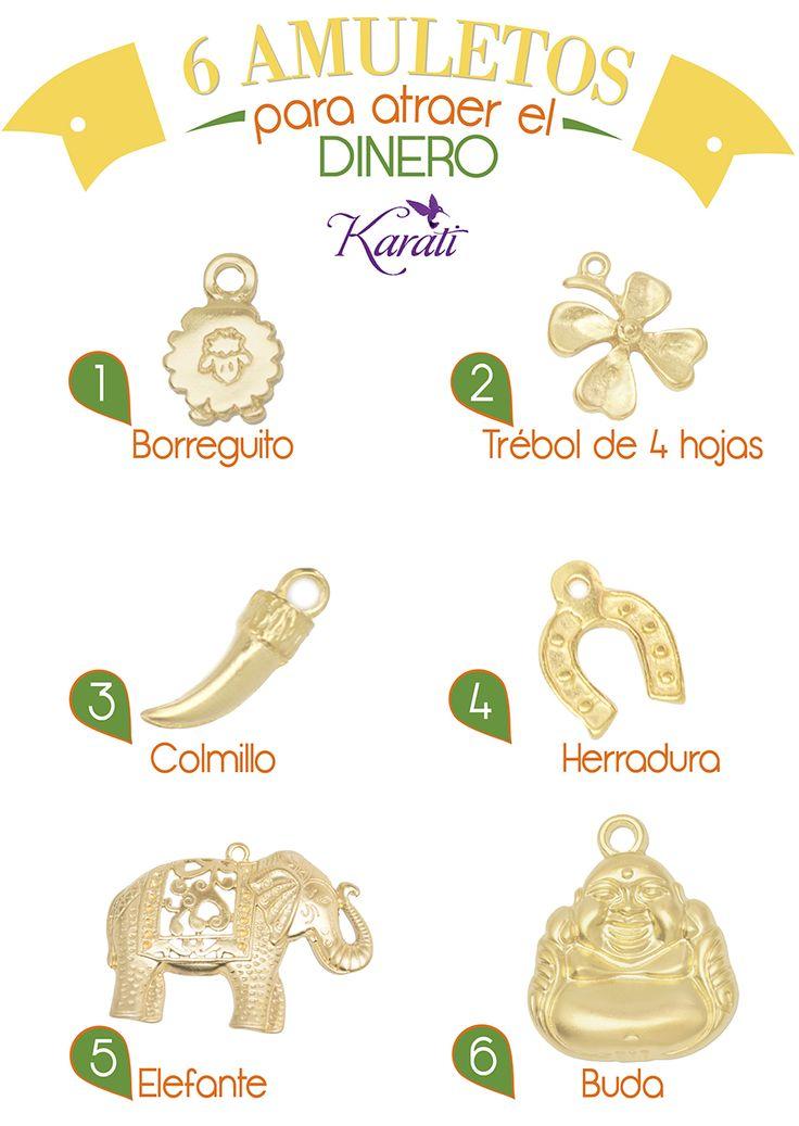 Atrae el #dinero a tu #negocio y para tus clientas con los 6 amuletos más famosos para tener mayor fortuna con el dinero.