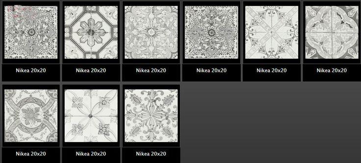 nikea 20x20 πλακάκια για δάπεδο και τοίχο σε ματ ή γυαλιστερή επιφάνεια