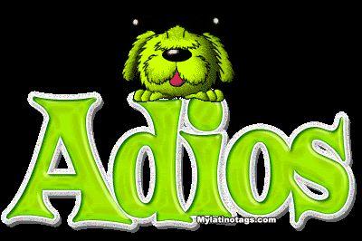adios perro verde