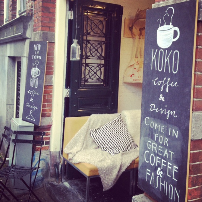 Very cool coffee place / store called KOKO [Amsterdam]. #greetingsfromnl