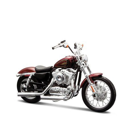 Miniatura Moto Harley-Davidson 2012 XL 1200V Seventy-Two Maisto 1-18