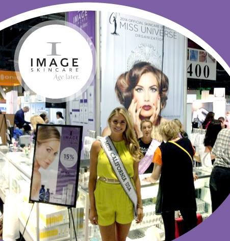 Miss California USA stopped by our Booth at the IECSC in Long Beach! Image Skincare is the Official Skincare of Miss California USA and Miss California Teen USA!  #skincare #beauty #usa #misscali #missusa #teenlife