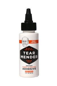 Tear Mender Leather & Fabric Adhesive has 101 purposes. Fix footwear, mend jeans, adjust hemlines, halt snags, a no-sew-solution for pillows & draperies, upholstery repairs, automotive seat & decor restoration, refurbish rugs, repair luggage & purses. Easy,instant and lasting repairs. Revitalize items you love. $11.80 Bonus Repair Kit 6 Ounce Bottle w/Free 0.5 Oz Bottle. Free US Shipping. http://laundryshoppe.com/store/linen-garment-care/tear-mender/#leatherrepair #craftsupplies…