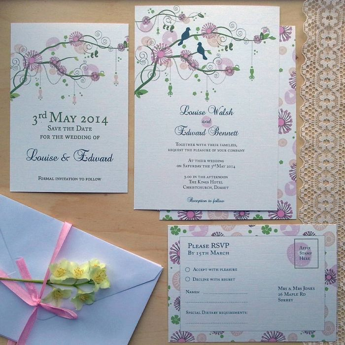 make your own wedding invitations online free%0A Wedding Stationery Trends For