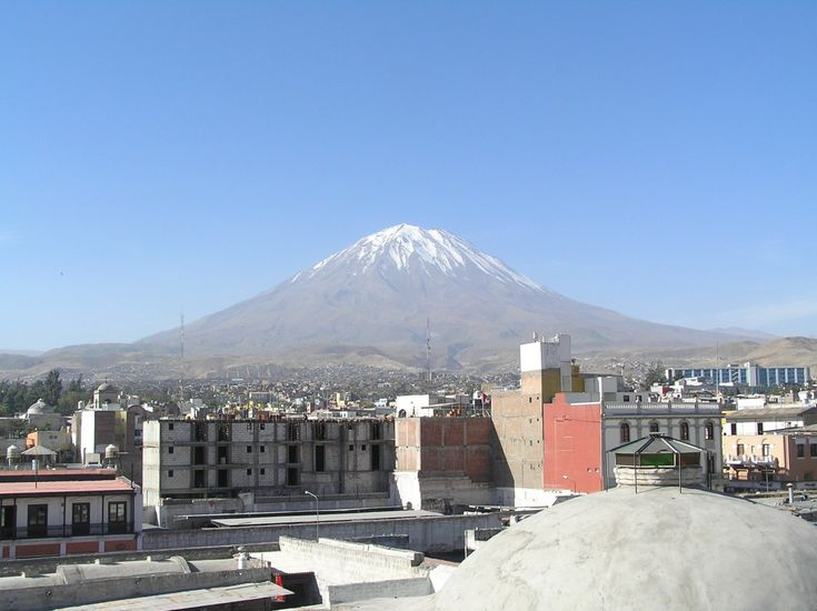 Sights, Arequipa, Andes, Peru