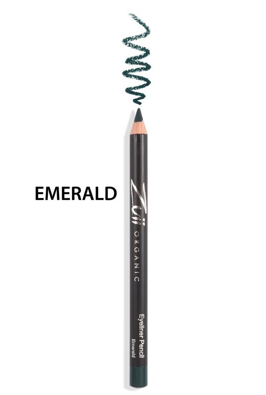 Zuii Organic - Mineralna kredka do oczu - Emerald [Szmaragdowa]