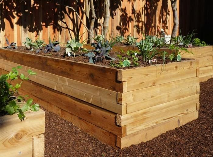 17 Best ideas about Cedar Raised Garden Beds on Pinterest Raised
