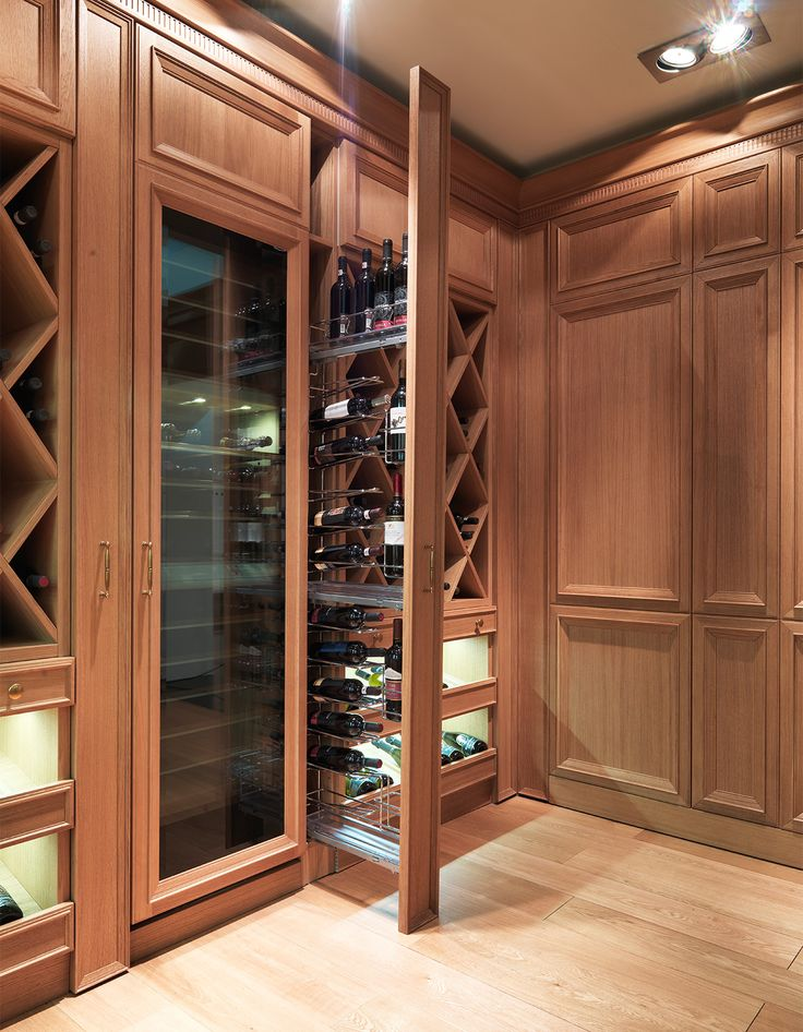 Nice fold out wine cellar save space not wine! & 157 best ?? images on Pinterest | Wine cellars Cellar doors and ...
