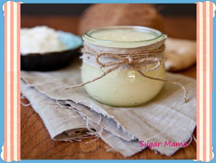 Ζαχαρένια συνταγή απολέπισης
