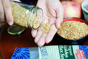 How to Add Flaxseed to Your Diet.   Eating #flaxseeds regularly can promote a healthy heart. The high levels of #omega-3 fatty acids they contain facilitates in the lowering of bad LDL cholesterol. Flax seed is a natural lubricant, and also a rich source of fiber, which promotes regularity. Adding fiber-rich foods to your diet also elevates feelings of satiety...