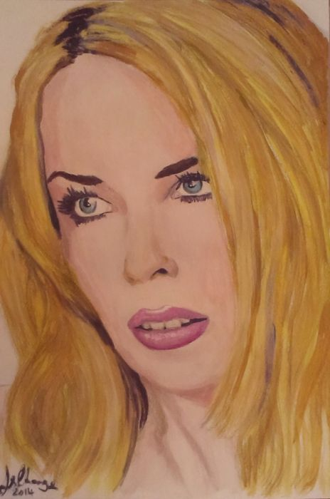 Kylie+Minogue+by+Lindasart