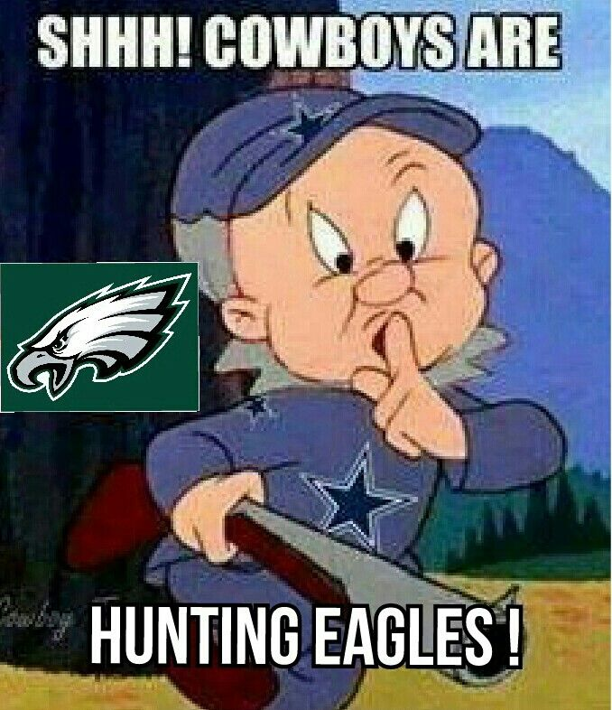 Elmer Fudd hunting eagles