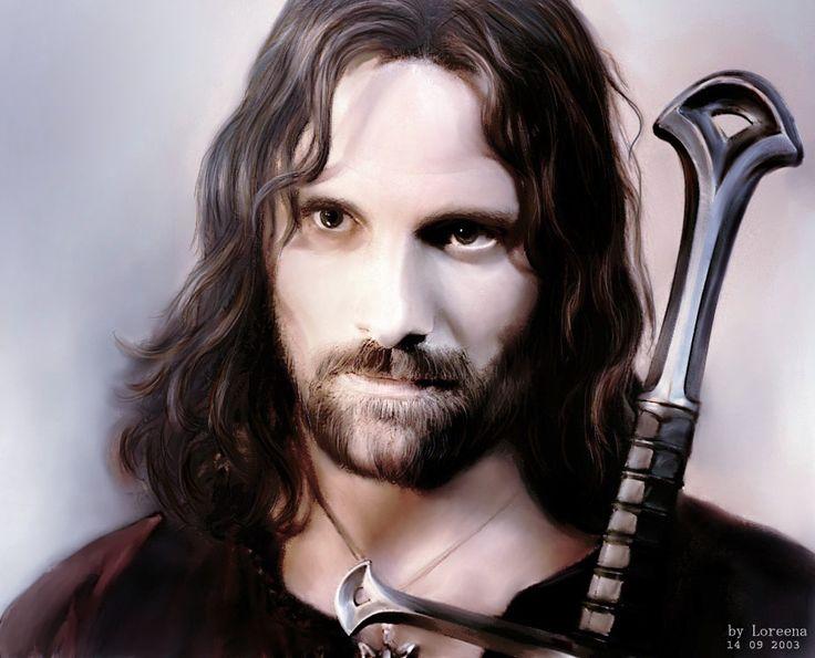Aragorn by Loreena24.deviantart.com on @DeviantArt