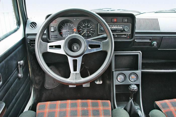 Vw Gti Mk1 Interior Best Car To Have Plaid Seats