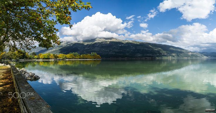 Lake Pamvotida - Lake Pamvotida or Pamvotis commonly also Lake Ioannina is the largest lake of Epirus, located in the central part of the Ioannina regional unit in northern Greece.