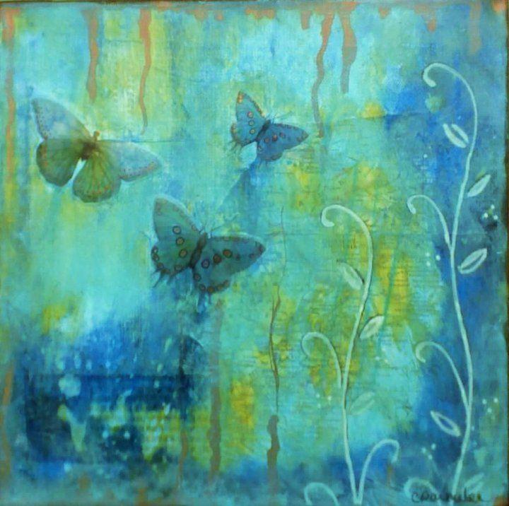 butterflies...the blues