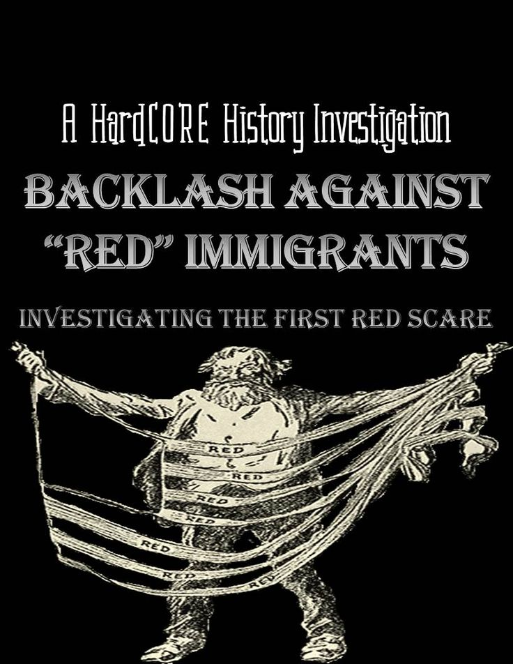 the first red scare The first red scare was marked by a widespread fear of bolshevism and anarchism at its peak between 1919 & 1920, government agencies were concerned with the effects these radical political dissenters were doing to the american society at-large, both in reality and the imagined.