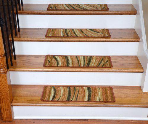 Washable Non-Skid Carpet Stair Treads – Jazzy Terra Cotta (13) http://suliaszone.com/washable-non-skid-carpet-stair-treads-jazzy-terra-cotta-13/