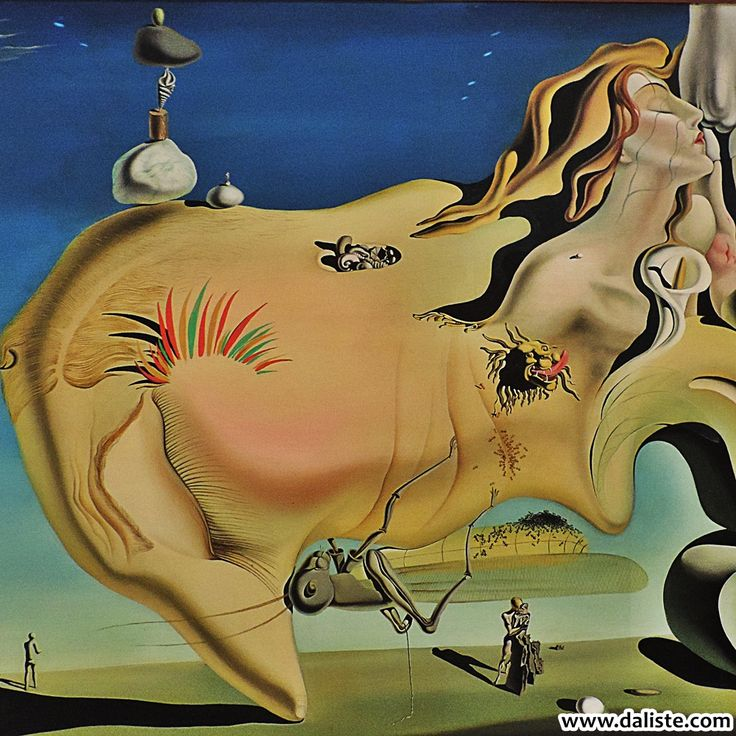 Salvador Dalí, Face of the Great Masturbator, 1929 @ daliste.com #daliste #museoreinasofia #reinasofia #madrid #spain #espana #salvadordali #dali #art #travel