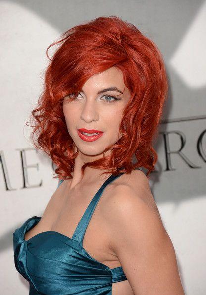 Angela Bassett Medium Curls with Bangs - Medium Curls with Bangs Lookbook - StyleBistro