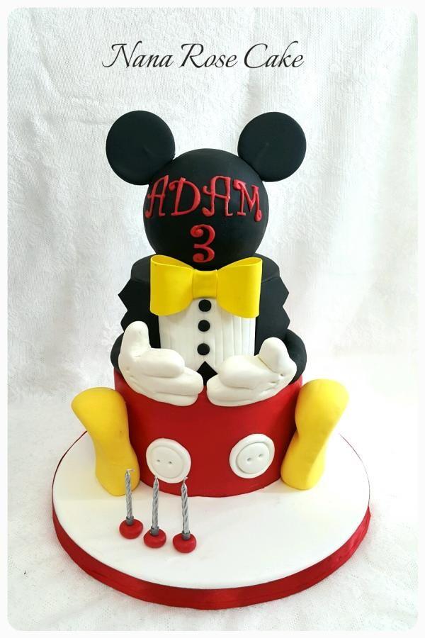 Mickey mouse cake  by Nana Rose Cake