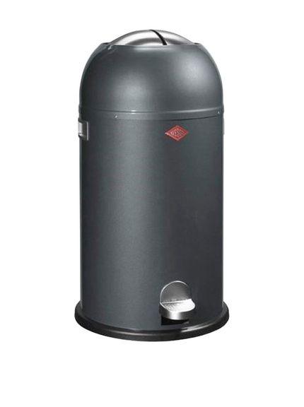 Wesco Mülleimer Kickmaster 33 L grau bei Amazon BuyVIP
