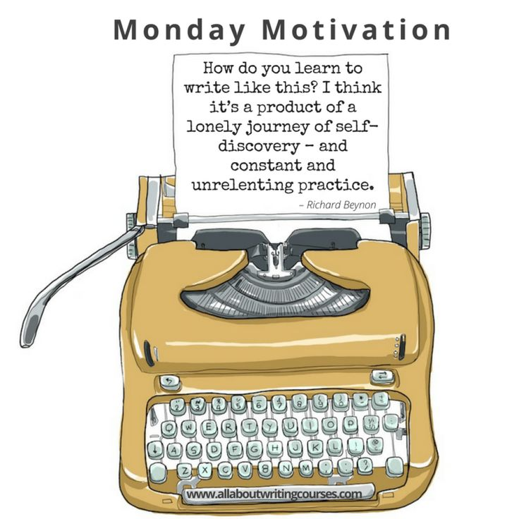 Monday Motivation: Grow into your writing – All About Writing Courses