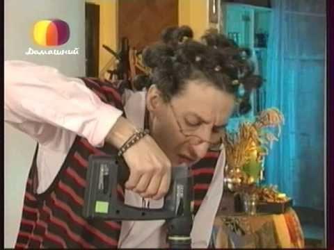 Декоративные страсти с Маратом Ка 2008 Маска Медузы Горгоны - YouTube