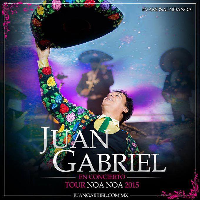 Concierto de Juan Gabriel en Aguascalientes. 2 de julio de 2015 en la Plaza de Toros Monumental de Aguascalientes, Aguascalientes.