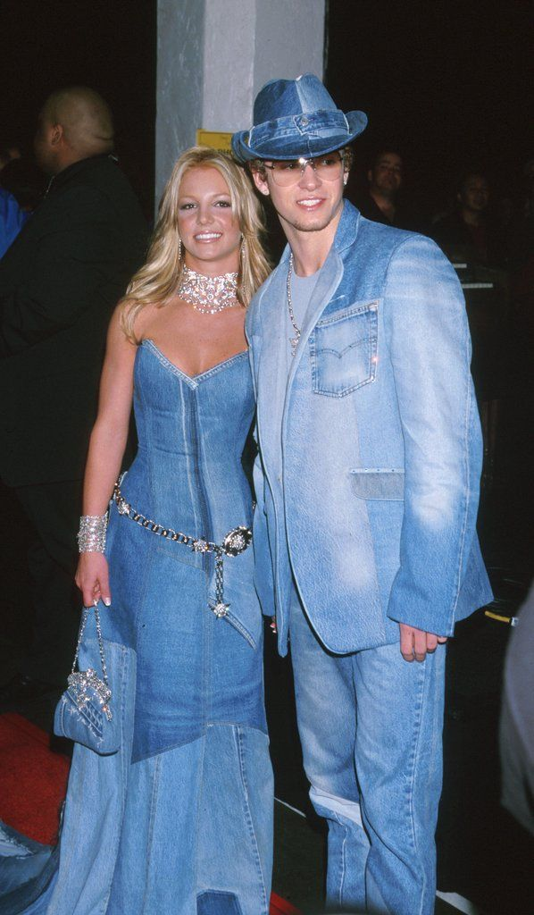 Britney Spears and Justin Timberlake at the VMAs is a great Halloween costume.