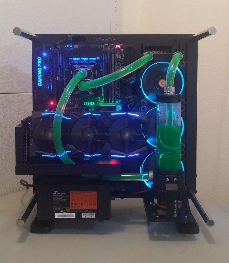 Custom Liquid Cooled i7-6950X GeForce GTX 1080 Ti Video Editing Gaming Computer | eBay
