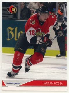 Marian Hossa # 66 - 2003-04 ITG Toronto Star Hockey