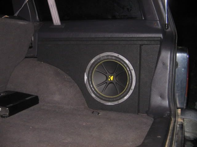 "XJ subwoofer enclosure's (Cubby) 10"" - Jeep Cherokee Forum"