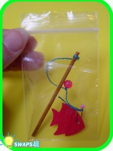 girl scouts in portugal | PORTUGAL Mini Fishing Pole Scout SWAPS | Girl Scouts