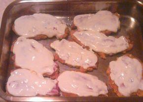 Hagymás bundában sült csirkemell recept