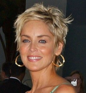 Perfect!  I could go for this look. Sharon Stone is absolutely beautiful and getting more so through the years. LJH