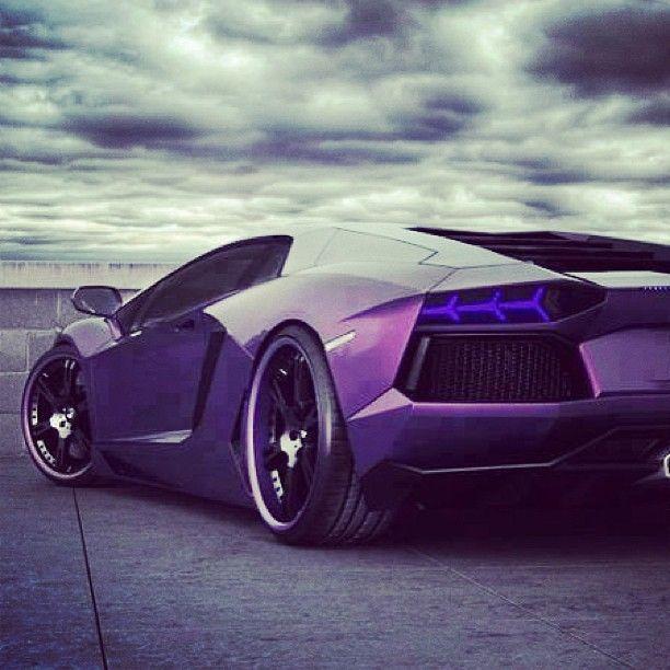 Hot Purple Lambo