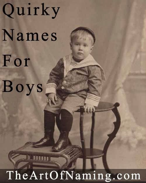 The Art of Naming: Unusual and Quirky Middle Names for Boys!