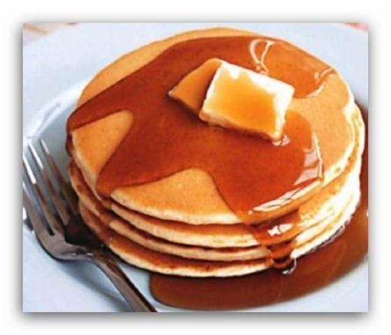 Pancake adalah jenis roti manis datar dinikmati oleh budaya di seluruh dunia. Resep Pancake bervariasi tetapi semua memiliki bahan dasar yang sama tepung, telur dan susu. Beberapa negara, seperti Amerika Serikat dan Kanada, melayani pancake untuk sarapan sementara yang lain, seperti kawasan Eropa, melayani pancake sebagai makanan penutup atau bahkan lauk. Mereka dimakan polos, dengan mentega, tab