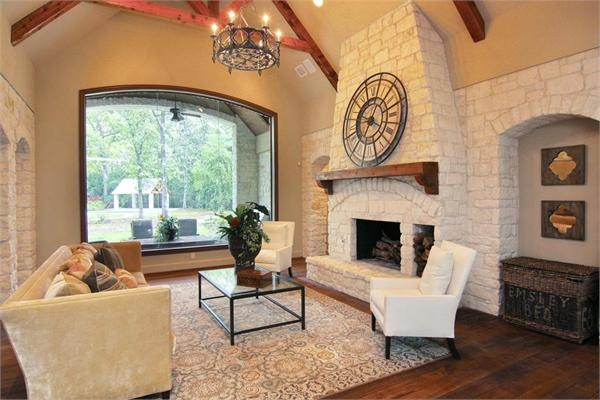 Impressive Austin Chalk Stone Estate Luxury Homes Austin Stone Western Ranch Homes