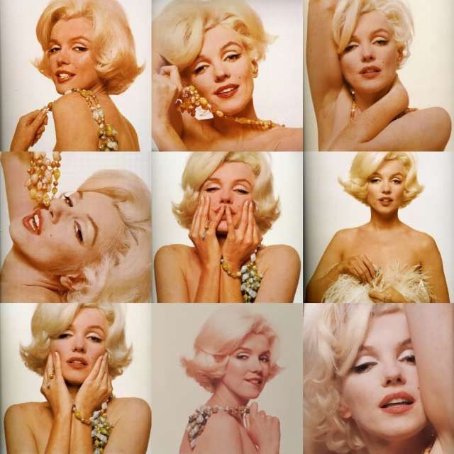 A collection of Marilyn Monroe headshots #icon...x