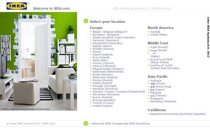 Clienţii IKEA pot cumpăra produsele online: în 2000 în Suedia şi Danemarca este lansată platforma de comert online, prin intermediul căreia clienții IKEA pot achiziționa pe internet produsele dorite. Platforma de cumpărături online nu este disponibilă în România.