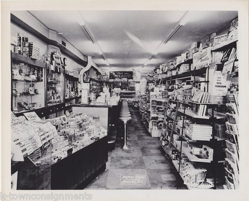 1950s  Candy Sore and Malt Shoppe