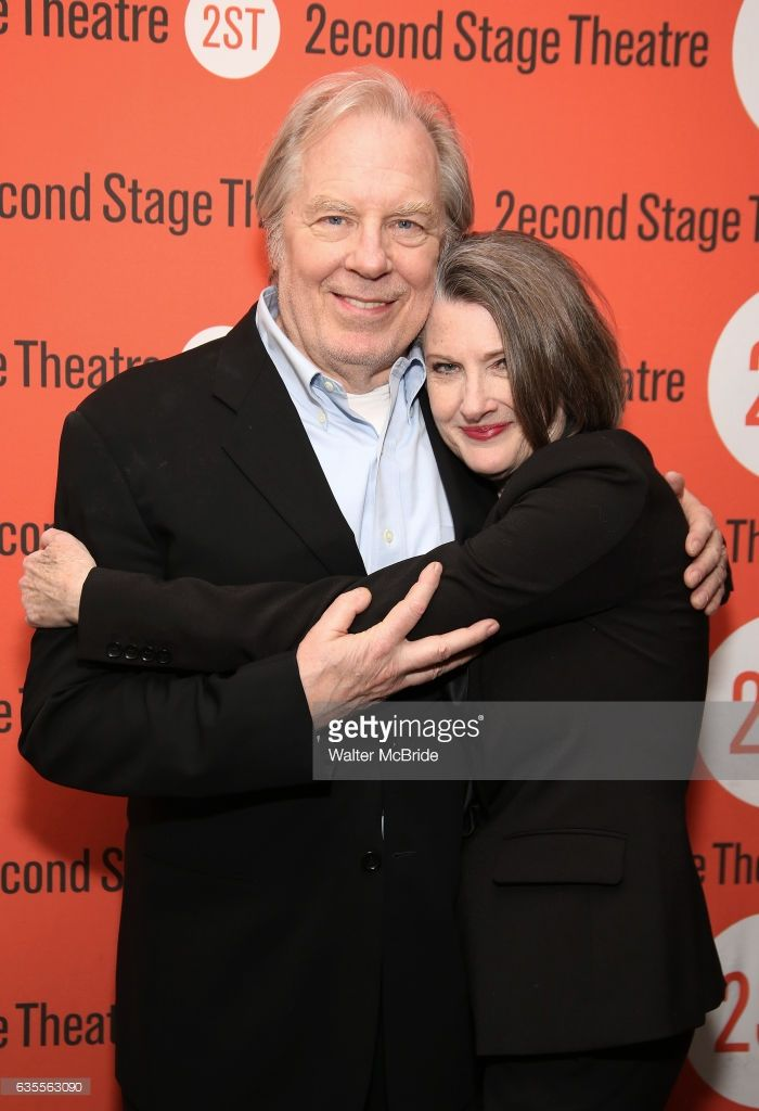 Michael McKean and Annette O'Toole attends the Second Stage Theatre's Off-Broadway Opening Night After Party for 'Man From Nebraska' at Dos Caminos on February 15, 2017 in New York City.