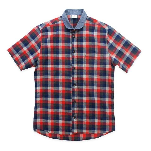 www.maskool.in - Oregon SS Madras Shirt Rp 99.000,00