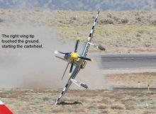Reno Air Race Crash | 51 Reno air Race Landing crash P 51, Reno Air Race